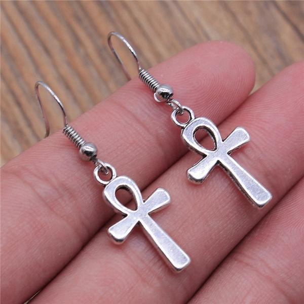 allforcraft, Dangle Earring, Jewelry, Cross Pendant