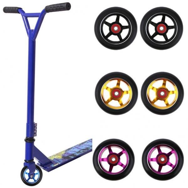Wheels, Bearings, Elastic, Scooter