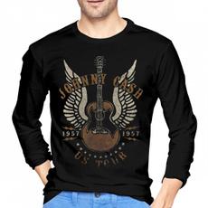 Funny T Shirt, #fashion #tshirt, ustour1957johnnycashmenlongsleevetshirt, Long Sleeve