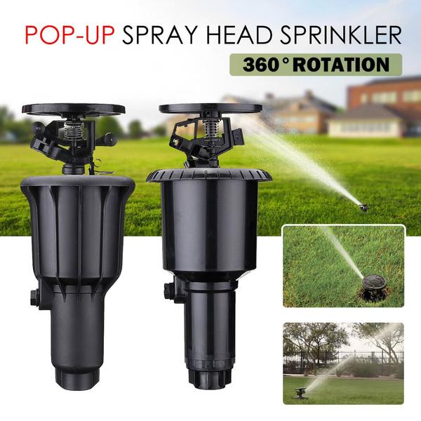 waterirrigationtool, Head, integratedwatersprinkler, popupsprayhead