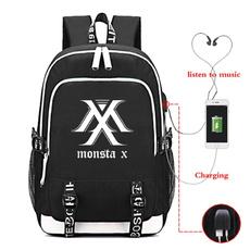 student backpacks, kpopmonstaxbackpack, School, school bags for teenagers
