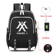 student backpacks, kpopmonstaxbackpack, School, school bags for teenagers