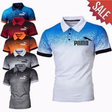 Fashion, Shirt, slim, short sleeves