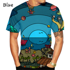 Summer, Funny T Shirt, looseclothing, abstracttshirt