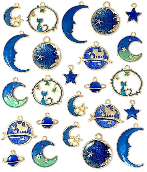 Star, gold, Bracelet, jewelrymakingandcrafting