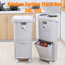garbageclassificationbin, Baño, Kitchen & Home, kitchentrashcan