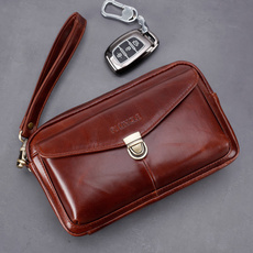 Genuine, Phone, leather, Clutch