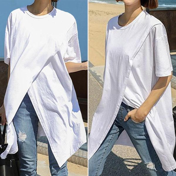 blouse, Summer, Plus Size, shirtforwomen
