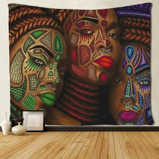 tapestrywall, art, hippie, Home & Living