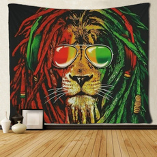 King, tapestrywall, Wall Art, hippie