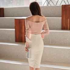 led, skirtsui, Long Sleeve, Ladies Top