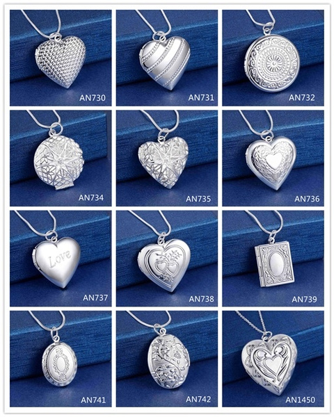 Heart, Sterling Silver Jewelry, Fashion, 925 sterling silver