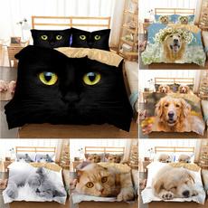 beddingkingsize, 3pcsbeddingset, Dogs, Pets