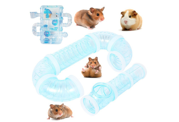 SimpleLife Hamsters Training Playing Toy External DIY Pipeline Tunnel Fittings Tube Exercise Cage Accessories