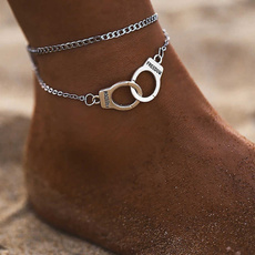Sterling, King, Fashion, ankletsforwomen