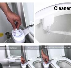 Bathroom, waterspraynozzle, bidettoiletseat, easycleaning