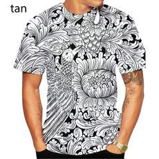 Mens T Shirt, Fashion, unisex clothing, Chinese