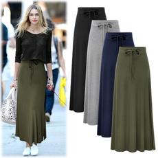 Summer, summer skirt, womenhighwaistskirt, Waist
