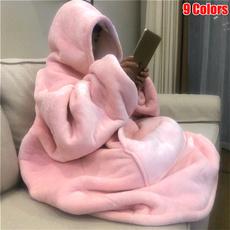 Fleece, hooded, Throw Blanket, Blanket