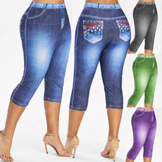 caprisforwomen, Leggings, Plus Size, caprisjean