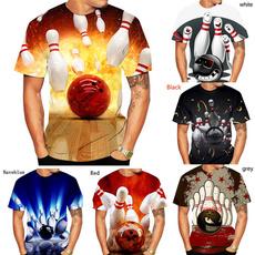 blowingball, Fashion, Slim T-shirt, printed