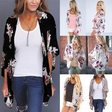 Summer, Fashion, beachshirt, Loose