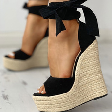 Summer, Sandals, Womens Shoes, wedge