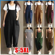 harem, Plus Size, Cotton, pants