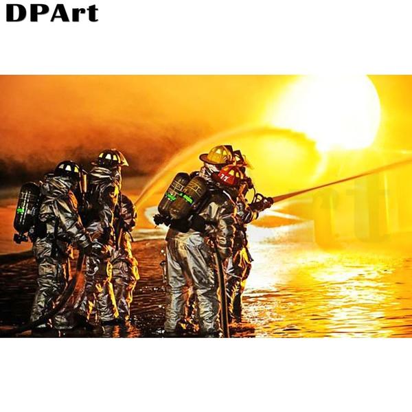 daimond, stitch, squarefireman, firefighter
