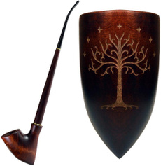 woodenpipe, Collectibles, tobacco, Lord of the Rings