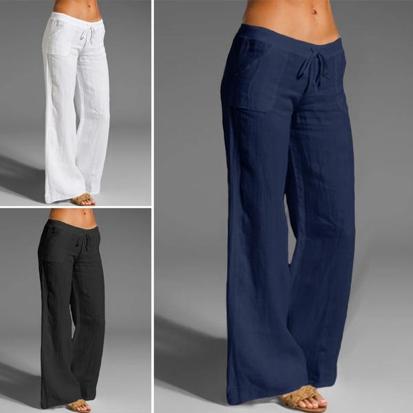 drawstringpant, springsummerforwomen, trousers, cottonpant