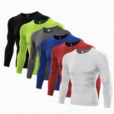 Mens T Shirt, Fashion, compression, Sleeve