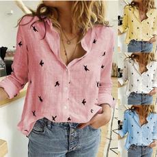 Plus Size, Tops & Blouses, Shirt, animal print