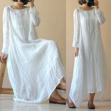 cottonlinendres, Cotton, vestidofemme, soliddres