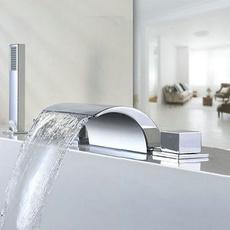 Faucets, 5piece, mixertap, bathtubfaucet