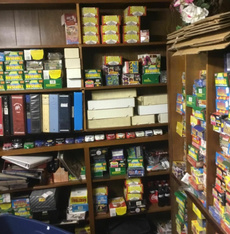 Collectibles, cardset, Vintage, Storage