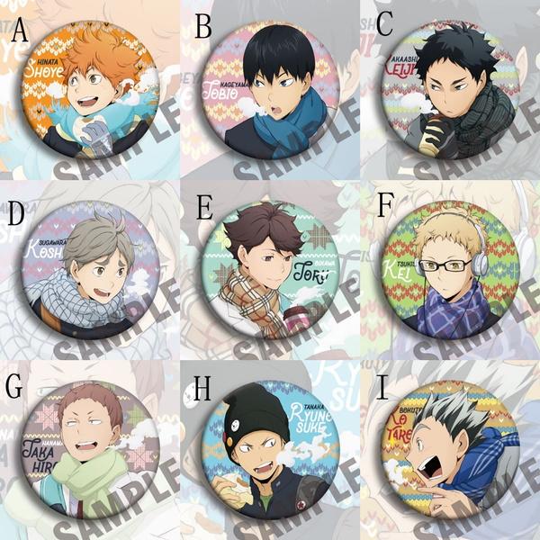 Anime & Manga, Jewelry, Pins, Brooch Pin