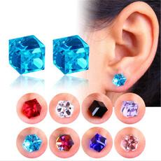 watercubeearring, healthearring, DIAMOND, Jewelry