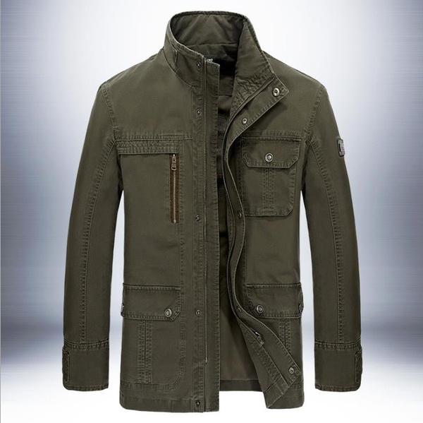 Spring, outdoorcoat, springandautumn, Jacket