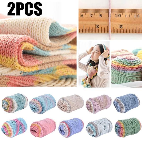 cottonyarn, Knitting, Winter, rainbow