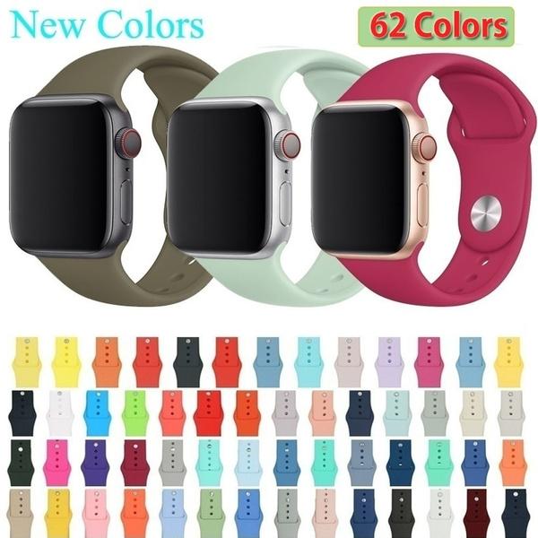 Apple, Silicone, Bracelet, Watch