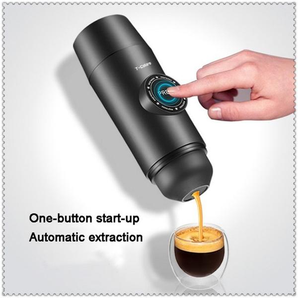 Mini, Coffee, Outdoor, Electric