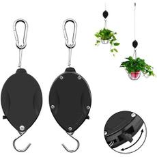 pulleyhanging, pulldownhanger, hangingbasket, hangingplantstool