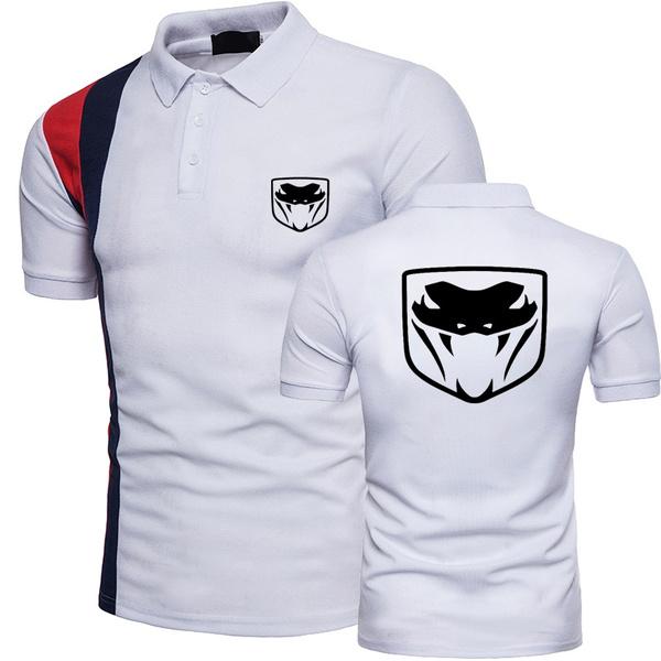 Dodge, Summer, polo men, Polo Shirts