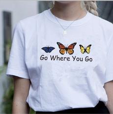 sunandmoon, butterfly, Fashion, Cotton