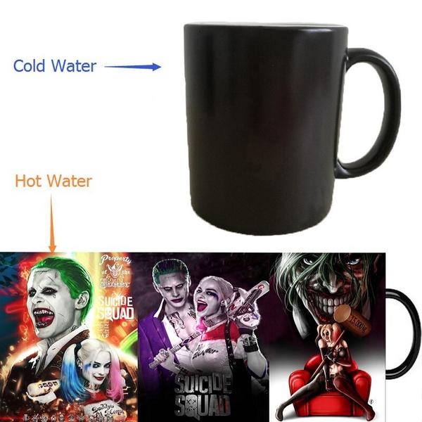 Joker, Coffee, harleyquinnmug, Cup