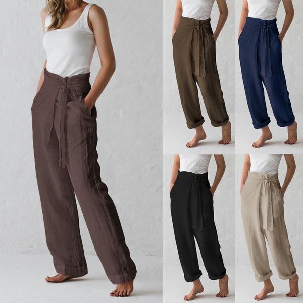 Women Pants, longtrouser, trousers, linencottontrouser
