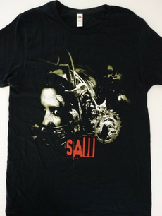 sawhorrormovieposterheadtrapjigsawtshirt, Head, print t-shirt, Posters