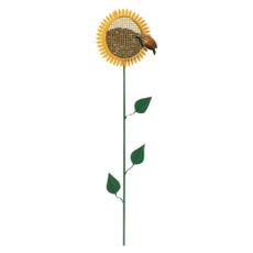 waterfeeder, Sunflowers, freestanding, Metal