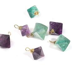 rhombuscrystalpendant, crystal pendant, heartreiki, healingcrystal